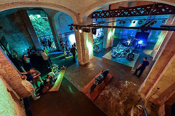 Reborn in Barcelona media presentation venue