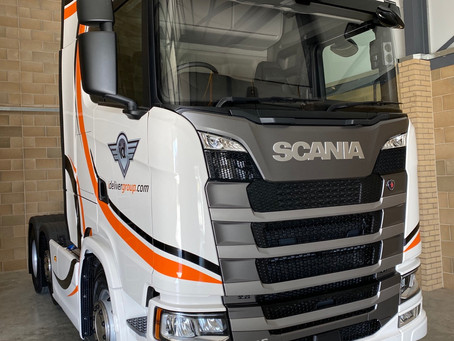 Another 2021 Scania 500S ready for April 1st