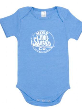 Organic Baby Grow Short Sleeve Romper
