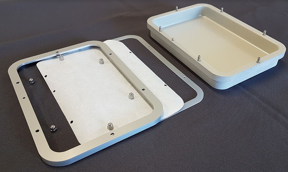 Teclen® Lyoprotect® Tray with Halar® Coating