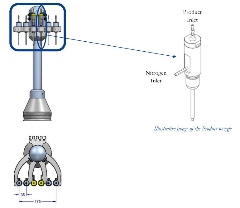 Product nozzle