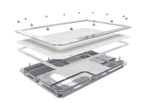 Teclen Lyoprotect Stainless Steel Tray for Lyophilization