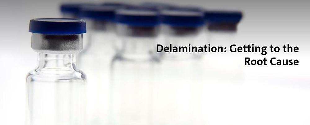 Delamination of pharmaceutical glass