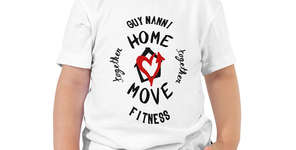 Toddler Home Together, Move Together COVID-19 T-Shirt