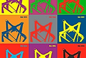X-10 kolory RAL