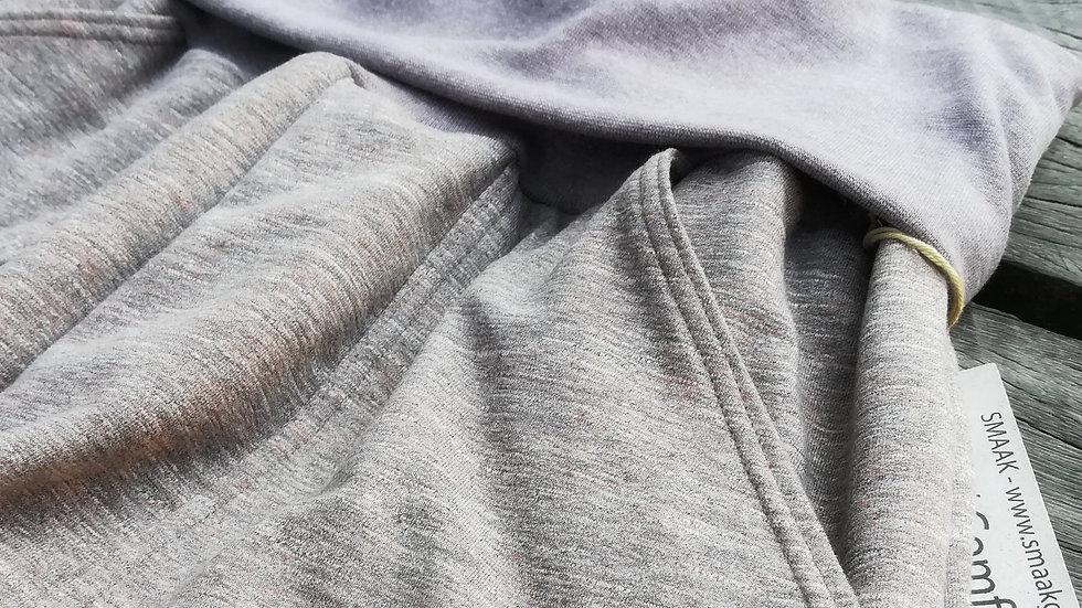 Yoga- / Comfy Pants  - Naturbrun meleret