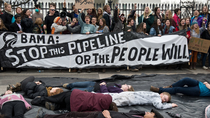 On the Keystone Pipeline Protests, and Eco-Socialist Reading