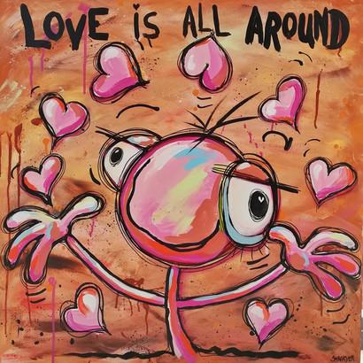 Love is alle around