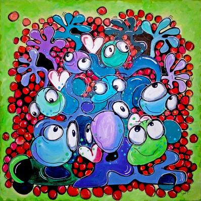 Bubble Gobble Love