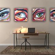 Eyes 1, 2, 3 og 4