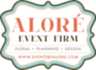 Aloré Event Firm Logo