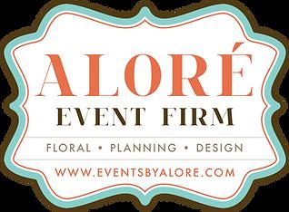 Aloré Event Firm Logo