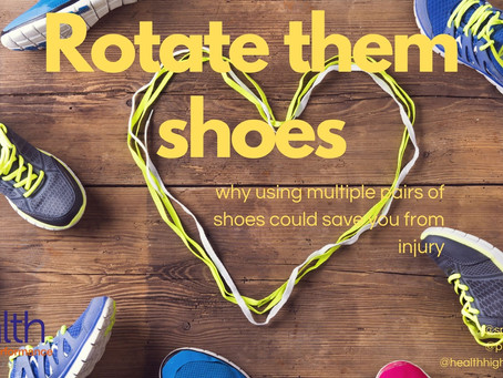 Rotate them shoes: why using multiple pairs of shoes could save you from injury