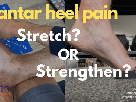 Plantar heel pain: to stretch or strengthen?