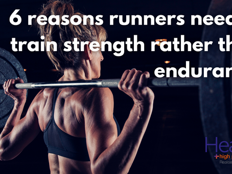 6 reasons runners need to train strength rather than endurance in the gym