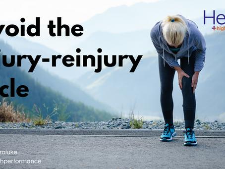 Avoiding the injury-reinjury cycle