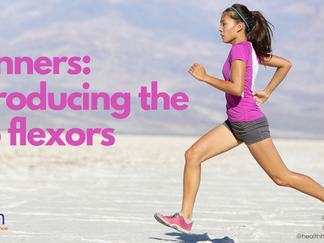 Runners, introducing the hip flexors