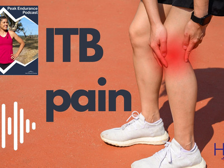 ITB pain: Luke on the Peak Endurance Podcast