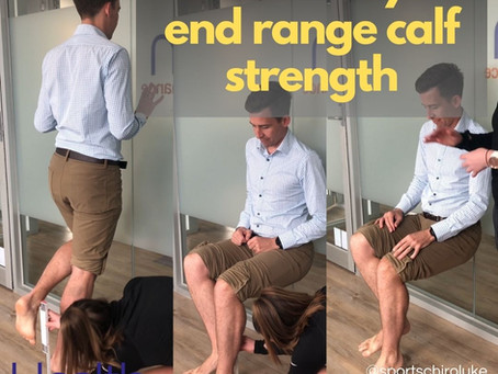 How to test your end range calf strength