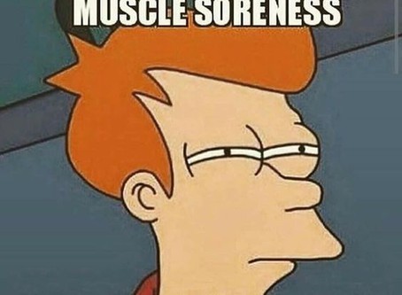 The dreaded DOMS...