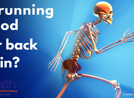 Is running good for back pain?
