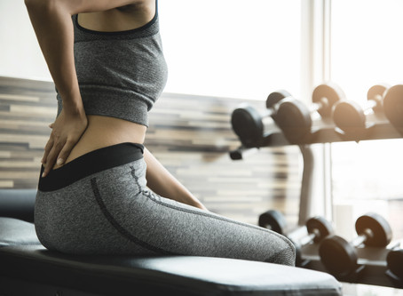 Back pain? How to keep going in the gym