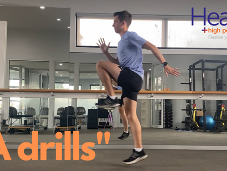 Running drills to improve your form