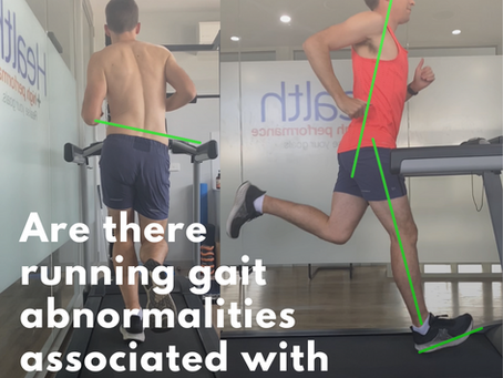 🙋Are running gait abnormalities associated with running injuries?🤕⁣