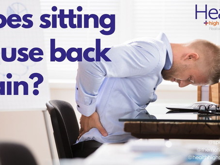 Does sitting cause back pain
