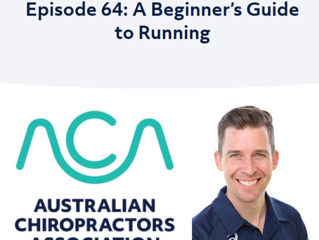 Luke on the ACA podcast:  A Beginner's Guide to Running