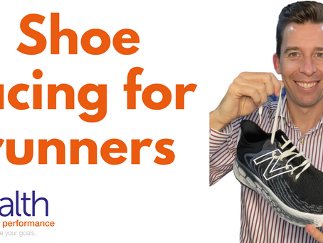 Shoe lacing for runners