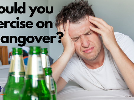 Should you exercise on a hangover?