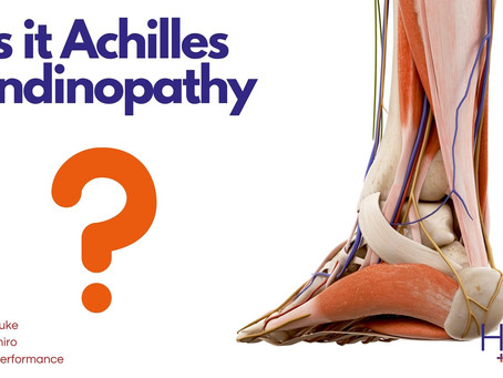 Is it the Achilles tendon?
