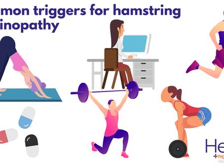 What causes hamstring tendinopathy?