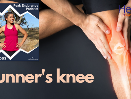 Runner's knee: Luke on the Peak Endurance Podcast