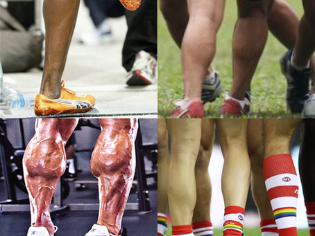 What does the look of your calves say about you?