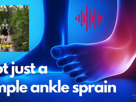 Ankle sprain podcast