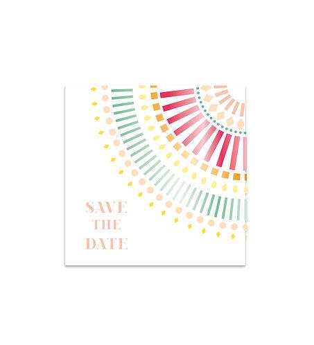 "Save the date ""Mandala"""