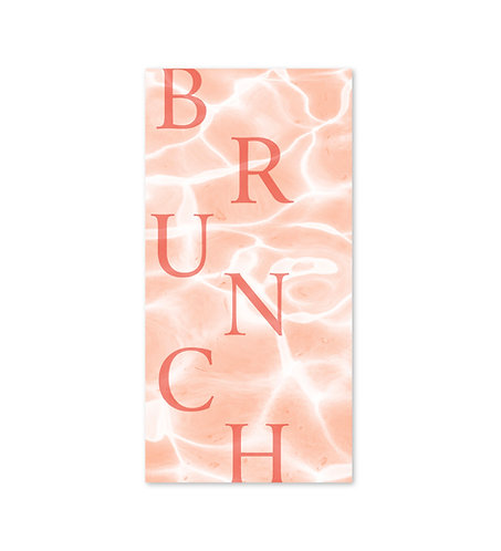 "Carte brunch ""Grenadine"""