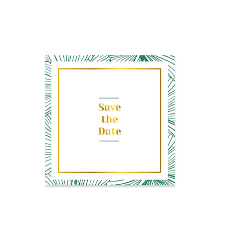 """Save the date """"Belle Époque"""""""