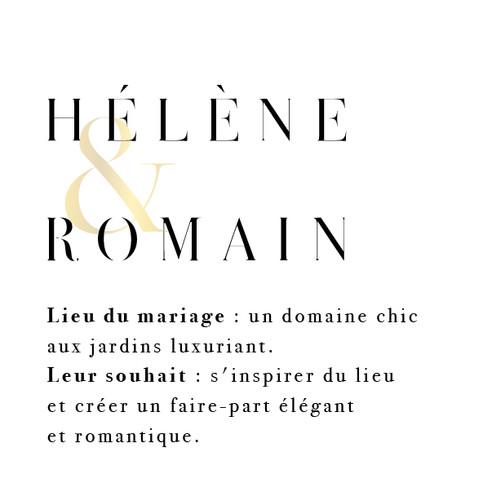 Hélène & Romain