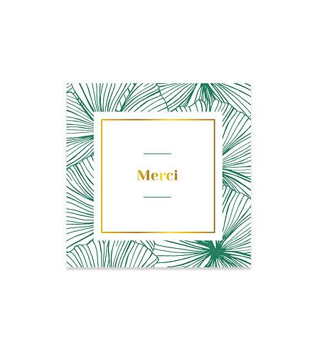 """Carte Merci """"Belle Époque"""""""