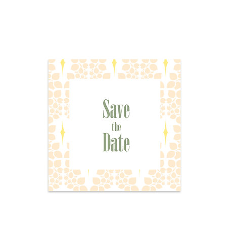 """Save the date """"Tiffany"""""""