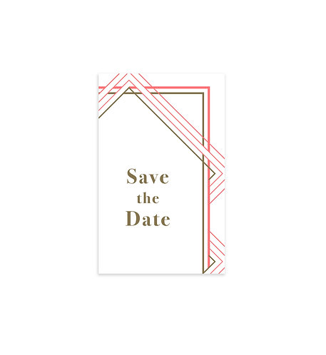 """Save the date """"Swing"""""""