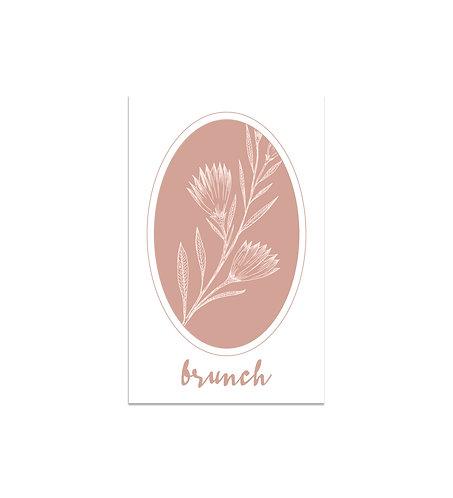"""Carte brunch """"l'Éternelle"""""""