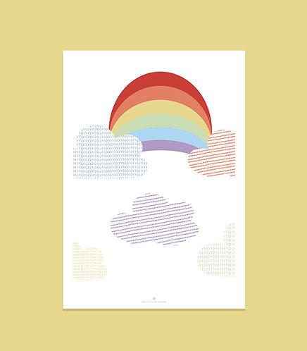 """Affiche """"Rainbow"""""""