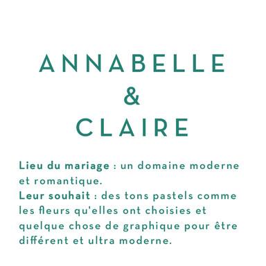 Annabelle & Claire