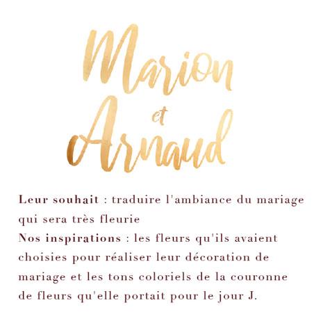 Marion & Arnaud
