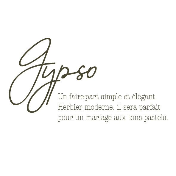 Collection Gypso