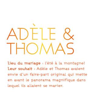 Adèle & Thomas